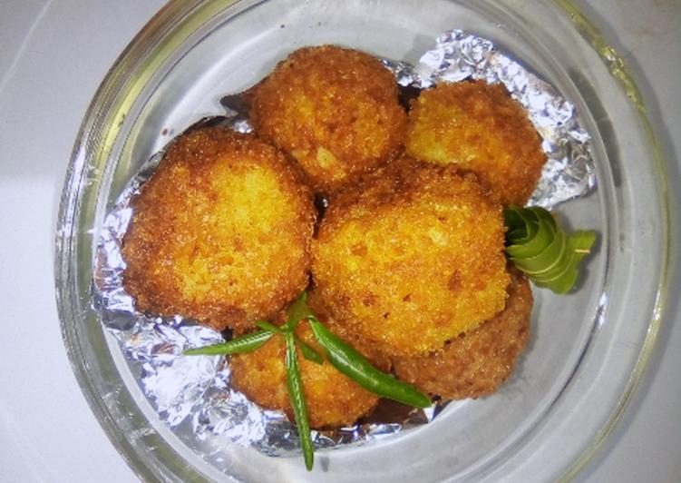 Recipe of Homemade Crispy golden yam balls