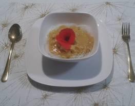 Pollo al Curry con pétalos de amapola