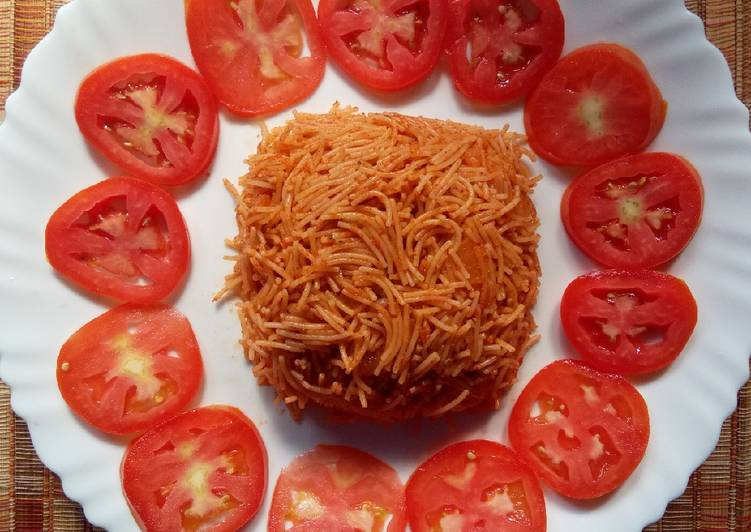 Easiest Way to Prepare Super Quick Homemade Tomato vermicelli upma