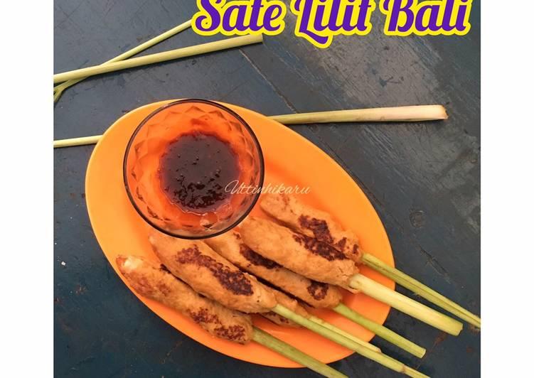 Sate Lilit Bali Panggang dengan Teflon #pekanInspirasi