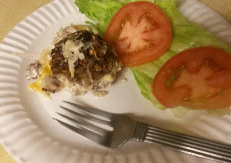 Beef & rice meatballs