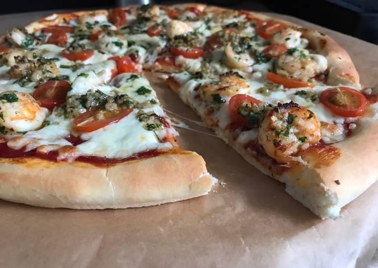 Pizza Włoska Krewetkowa