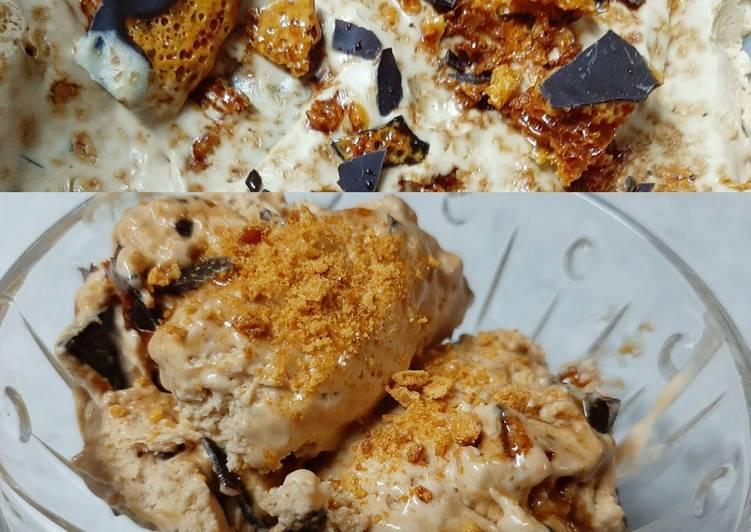 Recipe of Favorite Caramel Crunch Ice Cream