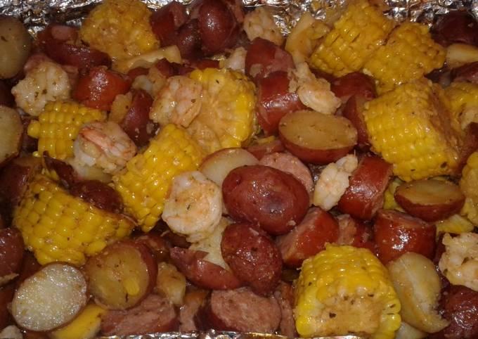 Oven Shrimp Boil