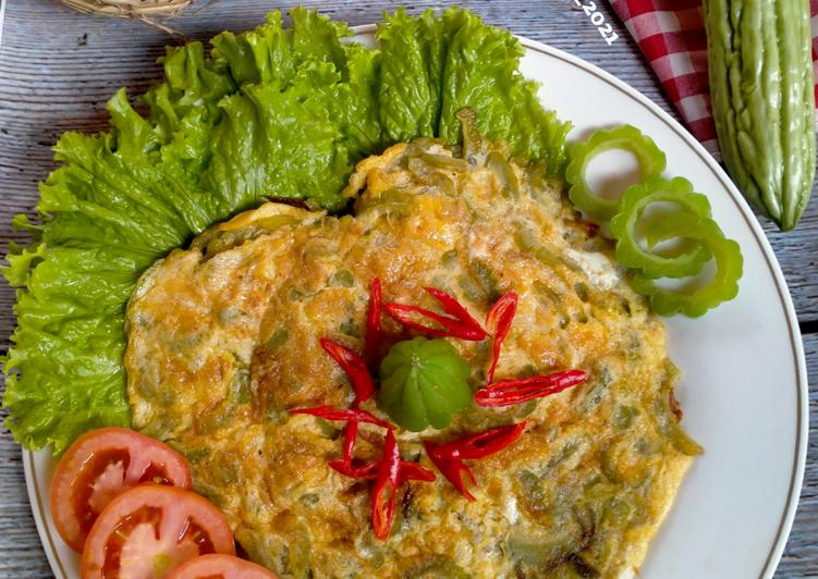 Telur Dadar Pare khas Pontianak Kalimantan Barat
