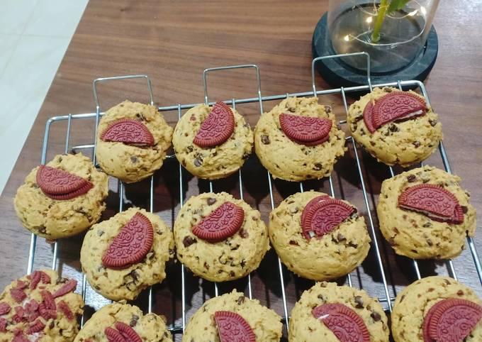 Softbaked cookies kekinian versi lebih buanyakk😍