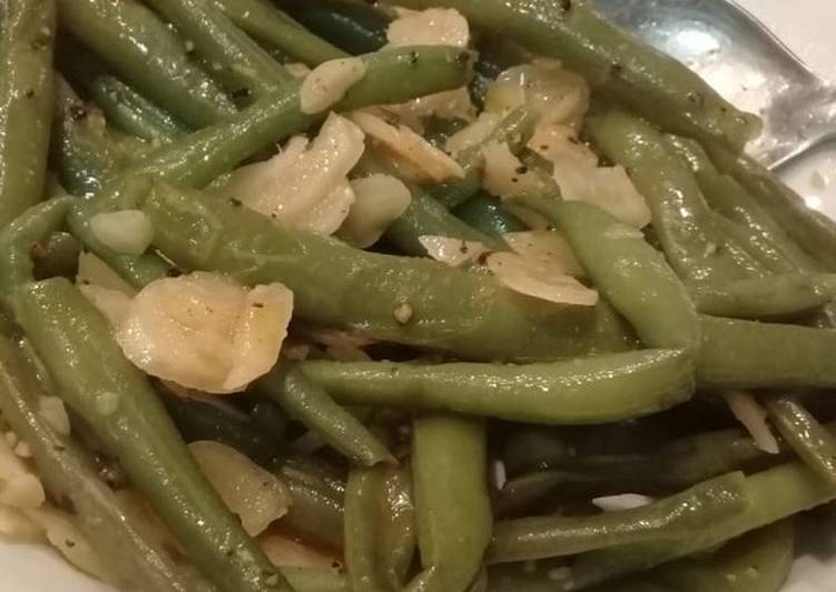 Recipe of Speedy Healthy Green Beans