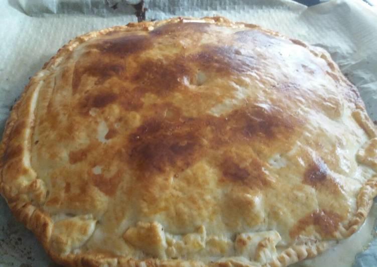 Empanada carbonara