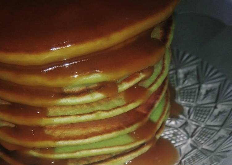 Resep Pancake Pandan Vla Santan Gula Merah Paling dicari