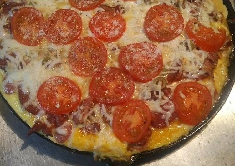 Step-by-Step Guide to Make Favorite Breakfast Pizza low carb