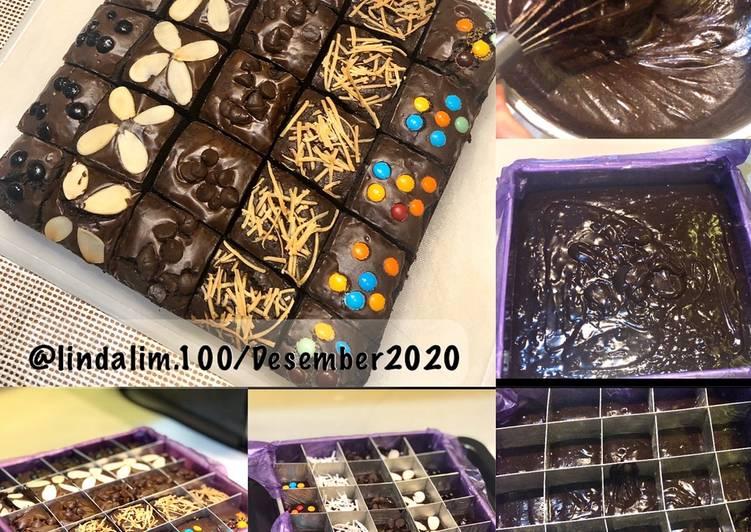 Brownies Panggang/ Brownies sekat Yummy
