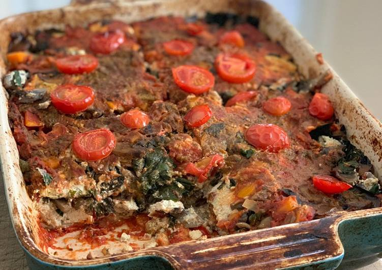 How to Make Delicious Mushroom and chard Lasagne