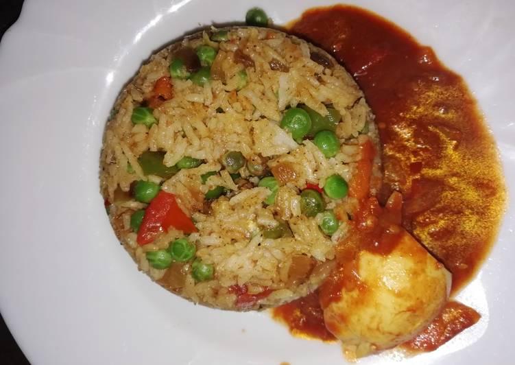 Fried rice#myunique rice recipe contest