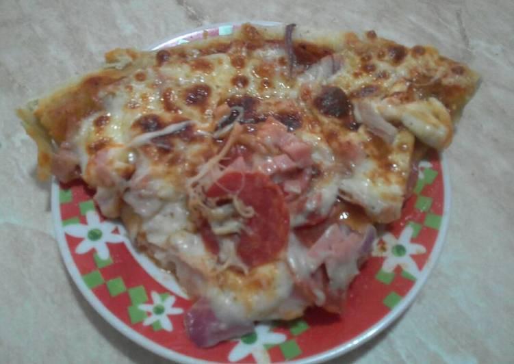 Pizza más que casera
