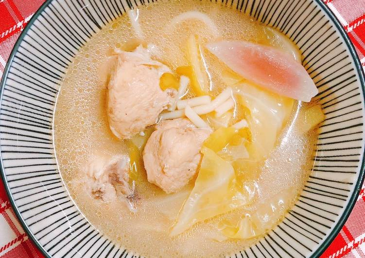 Recipe: Delicious Sinampalukang Manok with Leftover Pasta Noodles