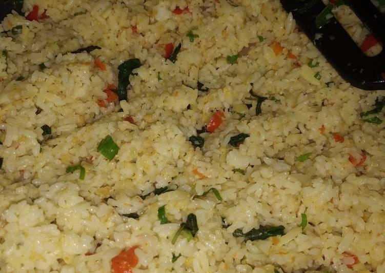 Nasi goreng oncom kemangi