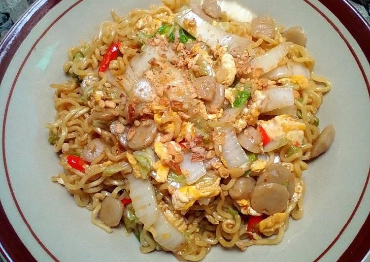 Resep Indomie goreng nyemek😚 Top