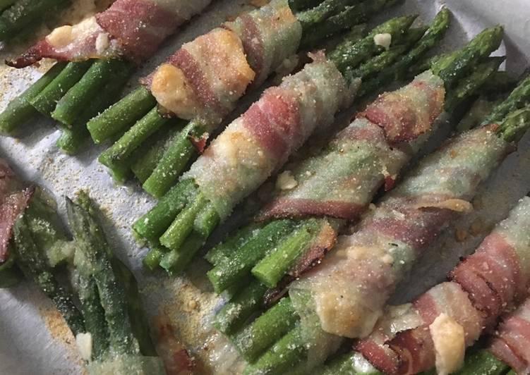 Asparagi al bacon