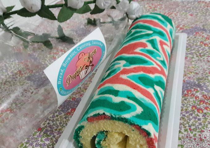Resep Batik Roll Cake Oleh Mia Fitriani Candra Cookpad