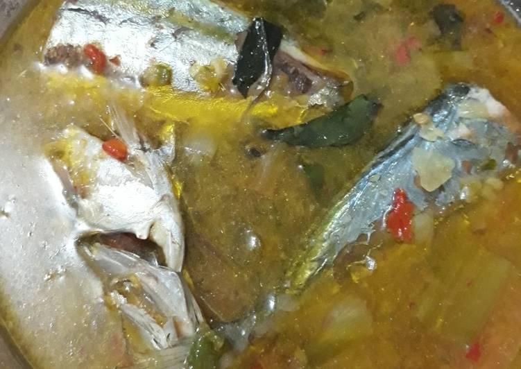 Ikan Kembung Kuah Asam