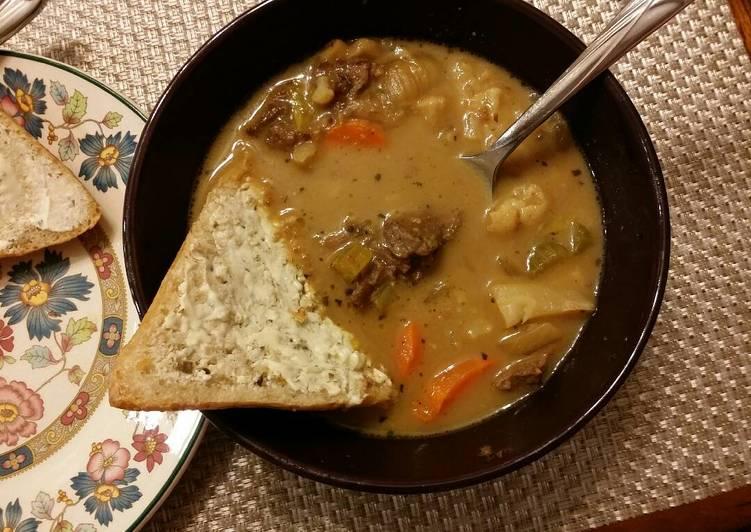 Beef Stew (tomato free, potato free)
