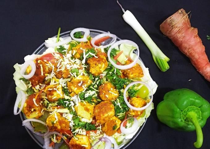 Step-by-Step Guide to Make Jamie Oliver Paneer tikka salad