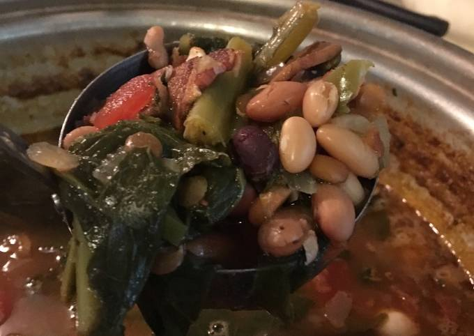 Recipe of Homemade Candys Bean Soup