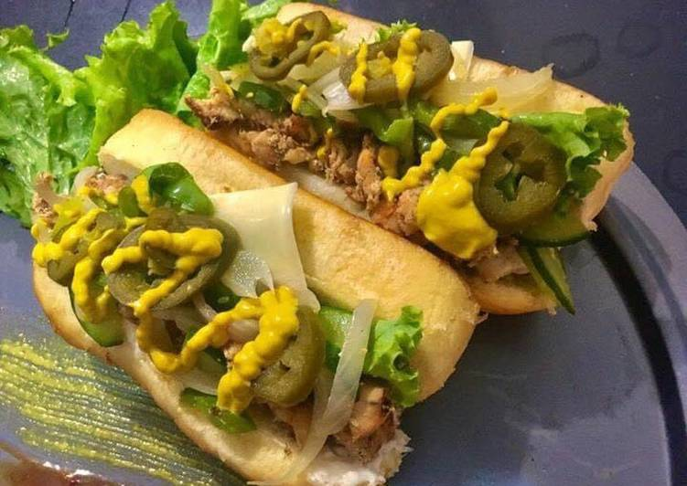 How to Make Any-night-of-the-week Cheesesteak Subs❤️😍😍😍😍