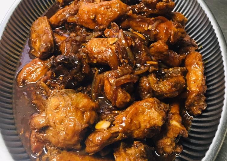 Recipe of Homemade Ayam Goreng Kecap