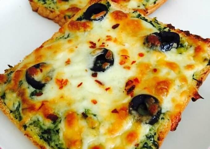 Recipe: Appetizing Cream cheese spinach corn sandwich