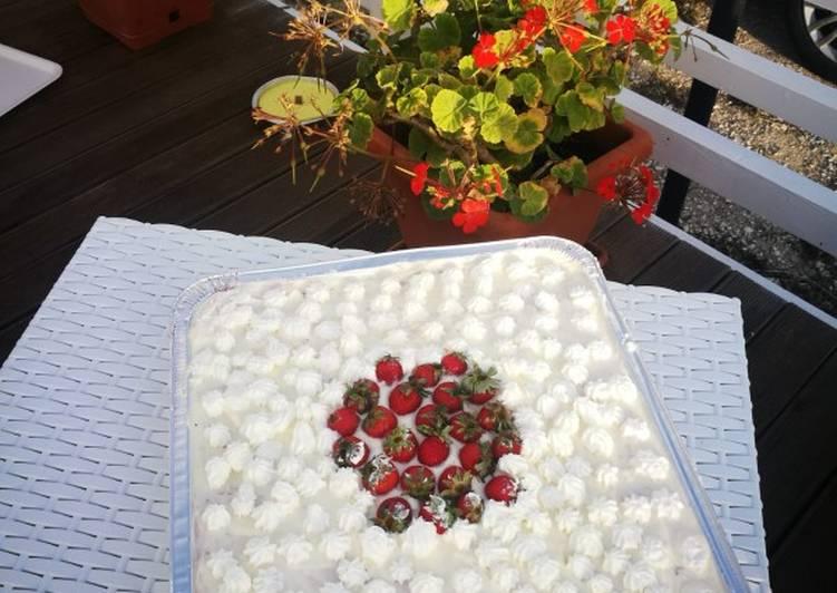 Tiramisu' alle fragole
