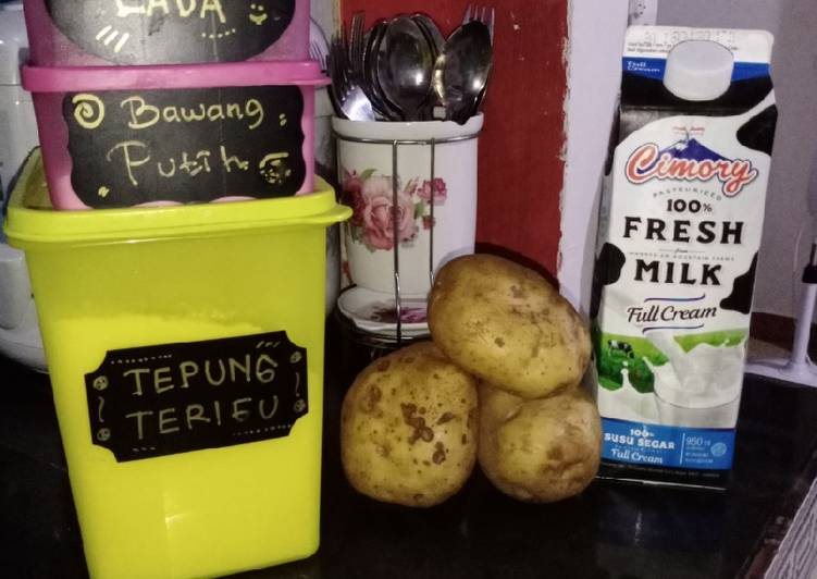 Kentang Goreng / Potato Wedges