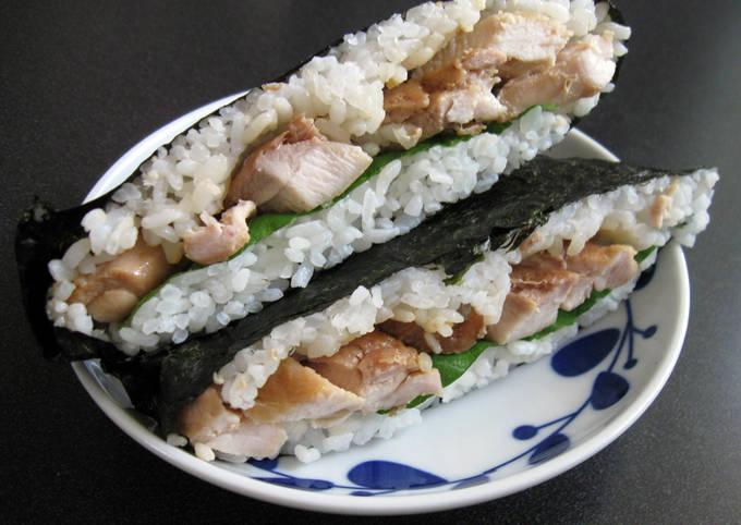 Rice Sandwich 'Onigirazu'