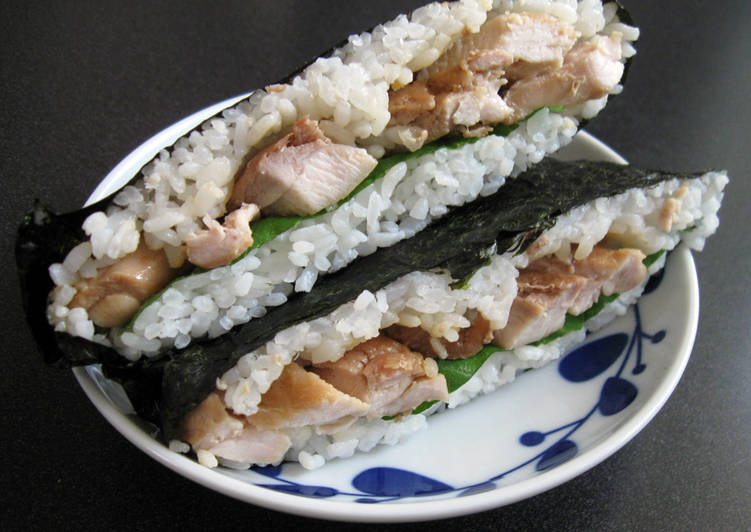 How to Make Delicious Rice Sandwich 'Onigirazu'