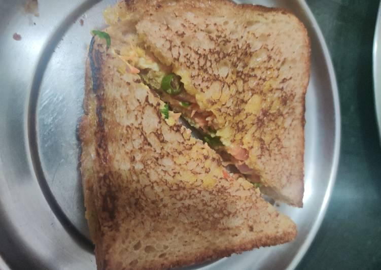 Recipe of Ultimate Malai Sandwich
