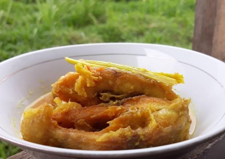 Resep Acar Kuning Ikan Nila, Enak