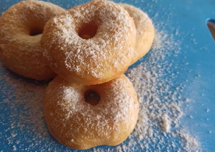 Resep Donat Empuk Dan Lembut Tanpa Mixer Tanpa Bread Improver
