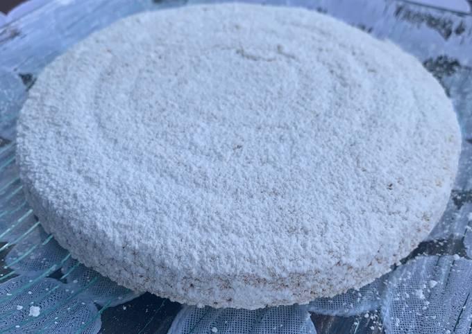 Gâteau coton ou gâteau aux blancs d'œufs