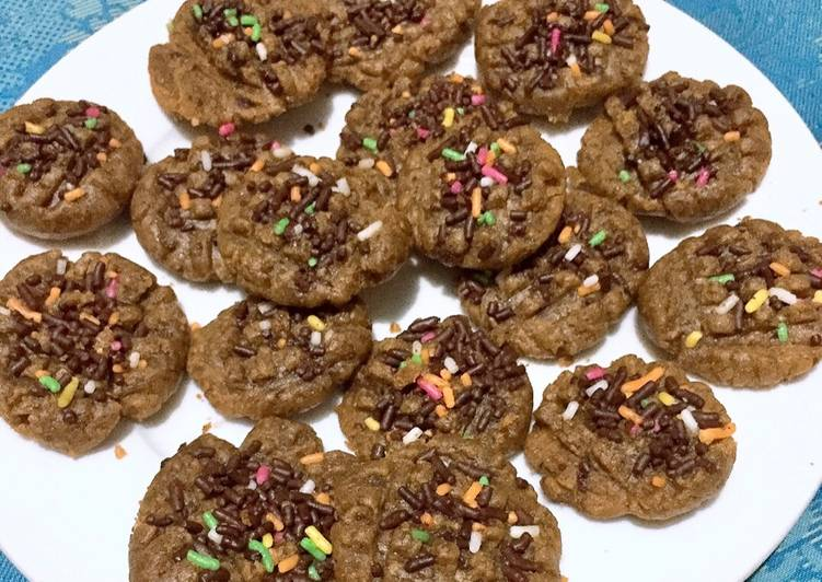 "Chococinno Cookies ""Tanpa Oven"