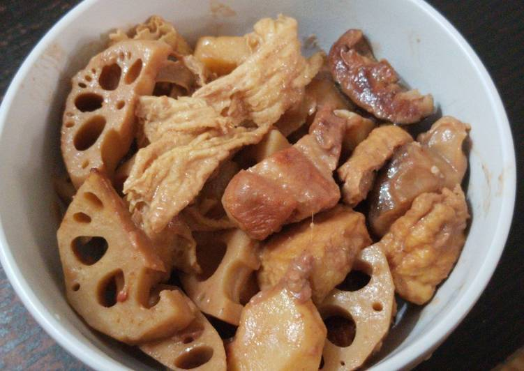 Easiest Way to Make Perfect Fermented beancurd with lotus roots and ribs 南乳蓮藕炆排骨