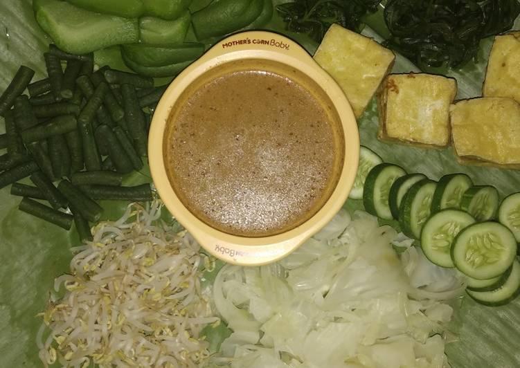 Pecel sayur