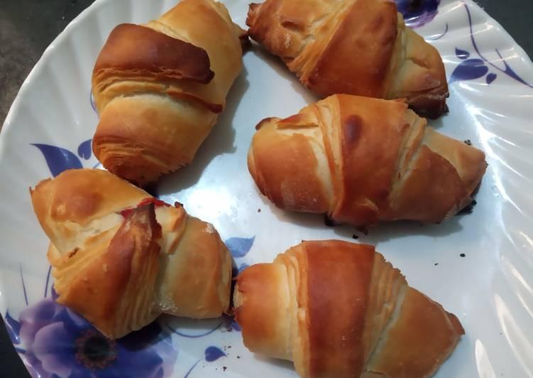 Croissant recipe/ramazan recipe / eggless without oven # cookpadramadan