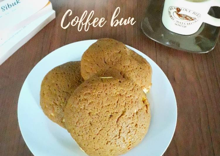 237.Coffee bun (Mexican bun) eggless