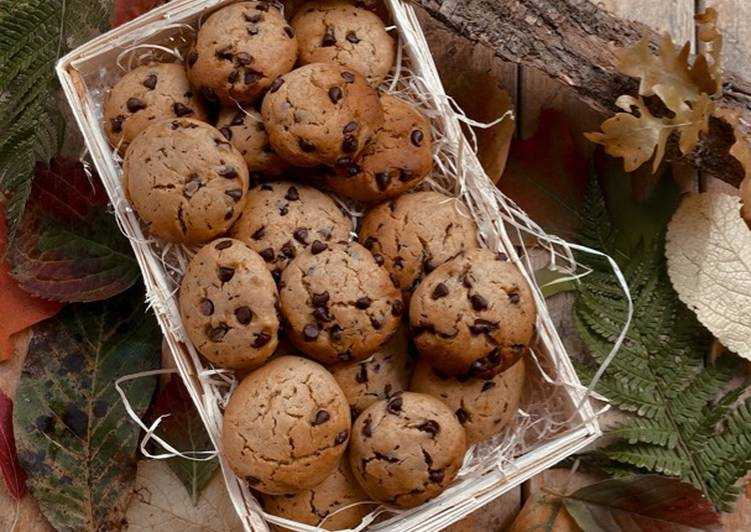 Cookies alla zucca con cannella e cioccolato