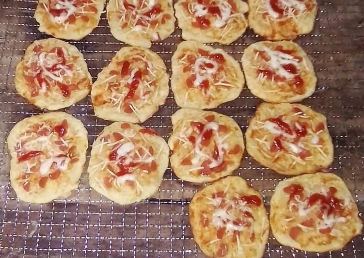 Sausage Pizza Or Pizza Sosis PIZZA MINI 1 Kali Proofing&No Ulen
