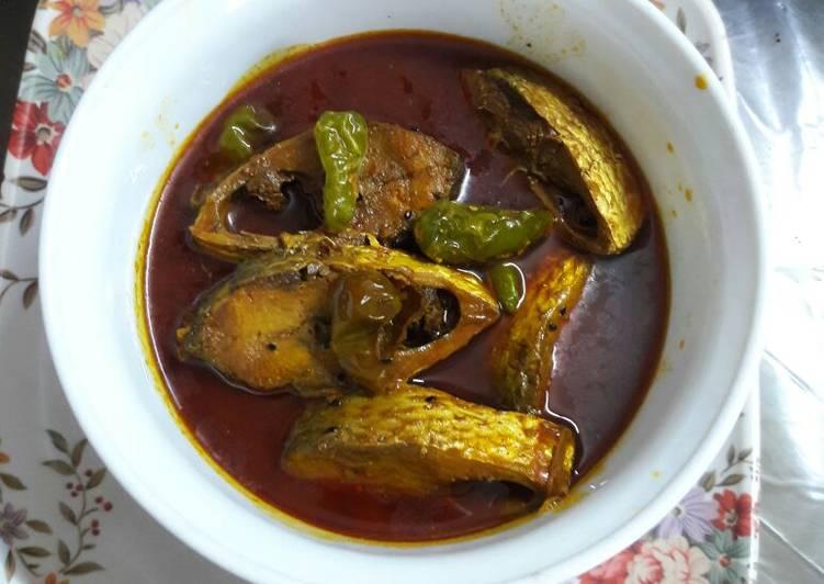 Hilsha curry
