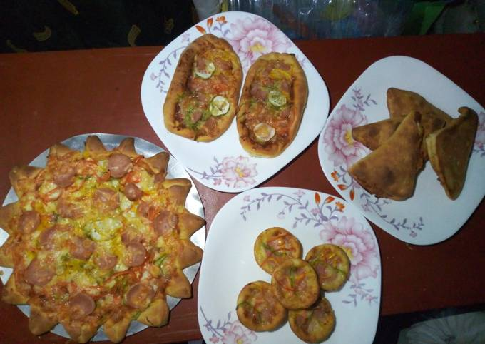 Nyamabite pizza creations