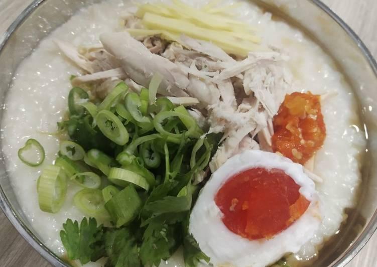 Resep Bubur Ayam Kampung (Kampong Chicken porridge), Lezat Sekali
