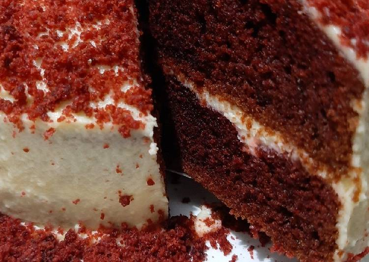 Red Velvet Cheesecake (2 Telur)