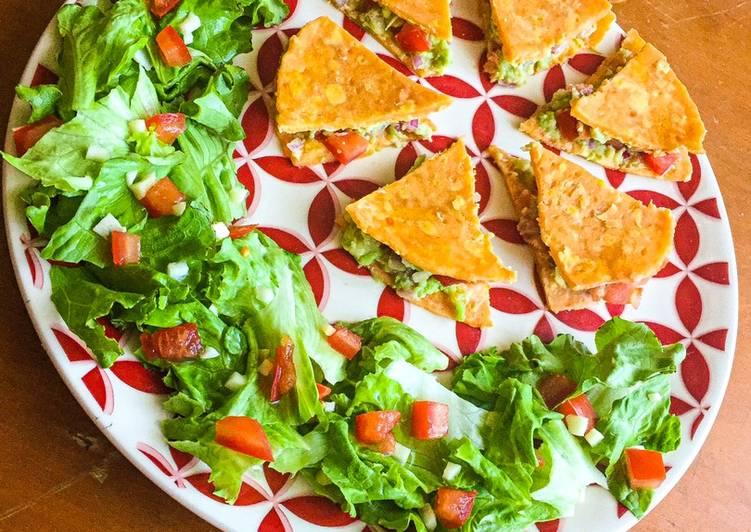 recette Wrap de patate douce façon «quesadillas» Le plus simple